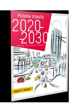 Projekt okładki raportu PDF